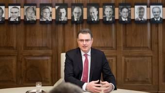 SNB-Präsident-Thomas Jordan ist unter Beschuss.