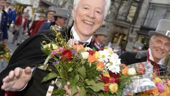 LdU-Legende und Professor Franz Jaeger - hier 2013 beim Sechseläuten - hat drei Karzinome überlebt (Archiv).