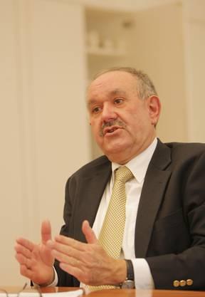 Hans Hollenstein abtretender Regierungsrat CVP: «Markus Notter war ein ausgezeichneter Justizdirektor und Hüter der Verfassung und Gesetze.»