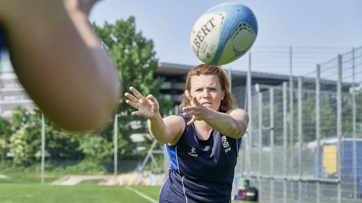 Sabrina Walti: «Es ist ein toller Sport für Mädchen. Man lernt, sich durchzusetzen.»