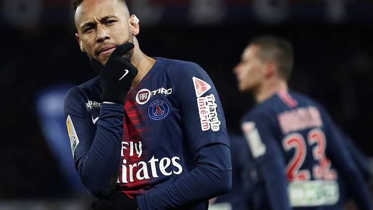 Neymar könnte Paris Saint-Germain bald verlassen, falls der französische Meister von einem anderen Klub ein passendes Angebot für den Brasilianer erhält