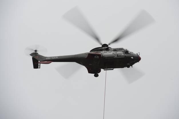 Der Superma-Helikopter