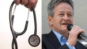 Hans-Ulrich Iselin, Präsident des Aargauer Ärzteverbands, glaubt nicht an die schwarze Liste.
