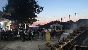Das Köhlerfest in der Gehren lockt – auch dank des abwechslungsreichen Rahmenprogramms – viel Volk an.