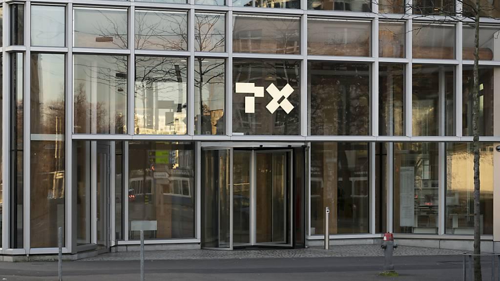 Der Medienkonzern TX Group, der bis Ende letzten Jahres unter dem Namen Tamedia firmierte, hat 2019 weitere Einbussen bei den Erlösen mit Inseraten in Printmedien hinnehmen müssen. Im Bild: Hauptsitz des Unternehmens (Archivbild).