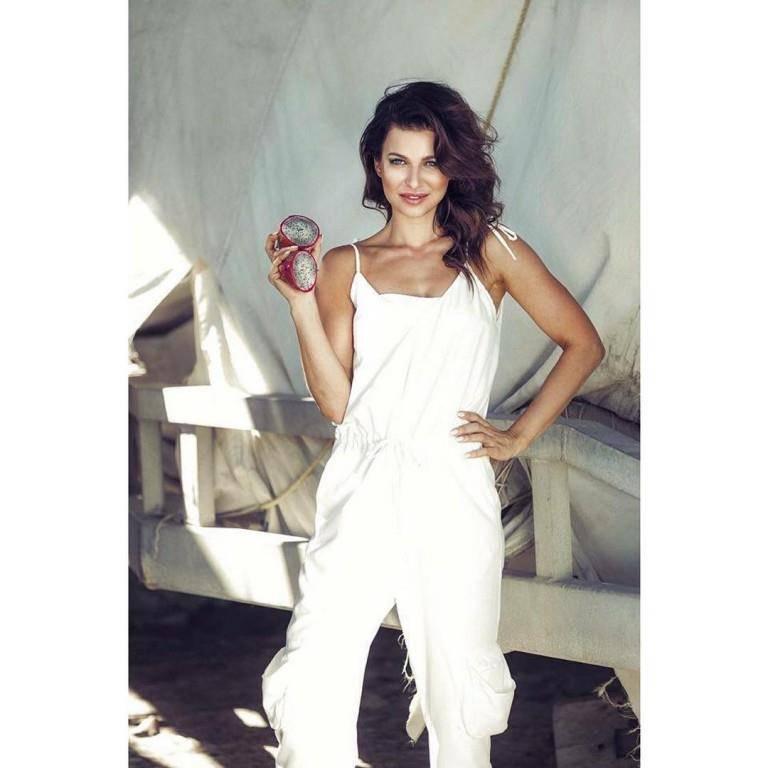 Anna Lewandowska arbeitet als Model