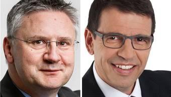 Andreas Glarner und Matthias Jauslin wehren sich gegen die Vorwürfe von Cédric Wermuth und Elisabeth Burger von der SP.