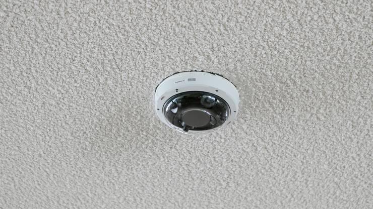 40 solcher Kameras wurden ohne Bewilligung in der Cordulapassage angebracht.