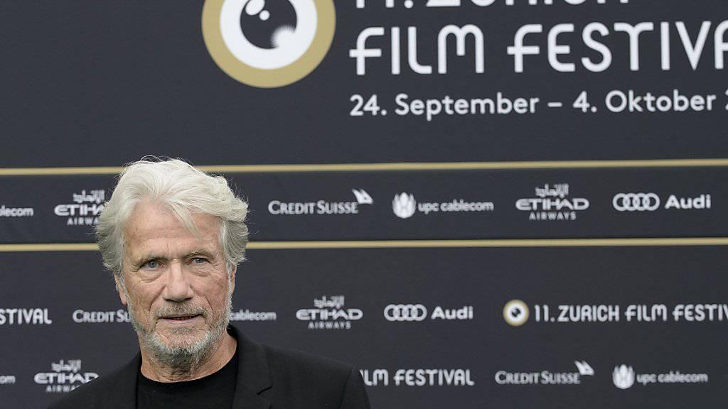 Der deutsche Schauspieler Jürgen Prochnow wird am 10. Juni 75 Jahre alt - hier im September 2015 beim Zurich Film Festival.