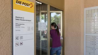 Die Petitionäre befürchten, die Poststelle im Dorfzentrum wird geschlossen.