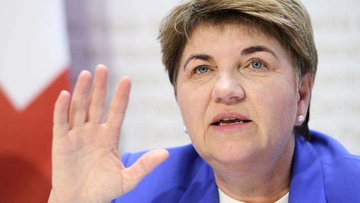 Die Walliser CVP-Bundesrätin Viola Amherd ist die erste Verteidigungsministerin der Schweiz. (Archivbild)