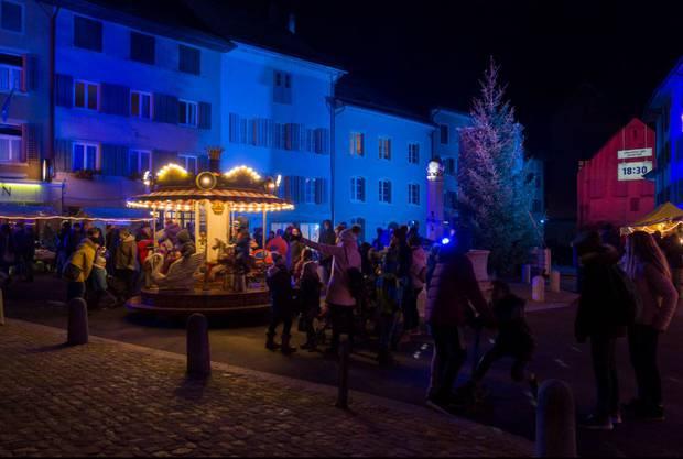 Weihnachtsmarkt Klingnau