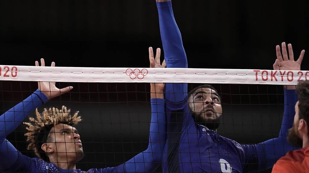 Frankreichs Volleyballer erstmals Olympiasieger