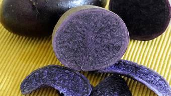 Ein natürlicher Blutdrucksenker: Blaue Kartoffeln