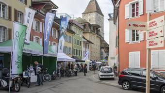 Gleichzeitig zum diesjährigen Ustermer Mobilitätstag finden auch die Streetfood-Days statt. (Bild: Mobilitätstag Aarau)