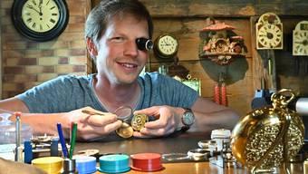 Bei Uhrmacher Andreas Fluri
