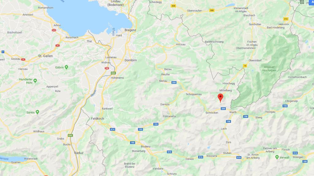 Wanderer in Vorarlberg tödlich verunglückt