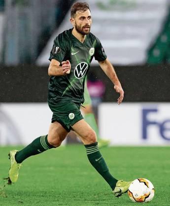 Hat ein feines Füsschen: Admir Mehmedi (Wolfsburg).