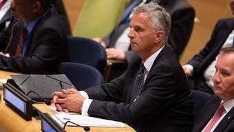 Didier Burkhalter an der 70. UNO-Vollversammlung in New York