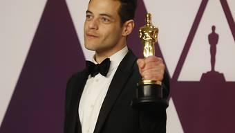 Oscar-Gewinner Rami Malek soll mitten in Verhandlungen um die Rolle von James Bonds neuem Gegenspieler stecken - dies zumindest berichten US-Medien. (KEYSTONE/EPA/ETIENNE LAURENT)