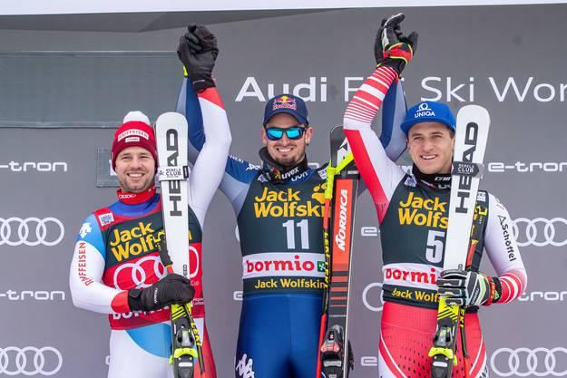 Der österreichische Speed-Spezialist triumphierte dank Bestzeit in der Abfahrt und ausgezeichnetem Slalom vor den Franzosen Alexis Pinturault und Victor Muffat-Jeandet.