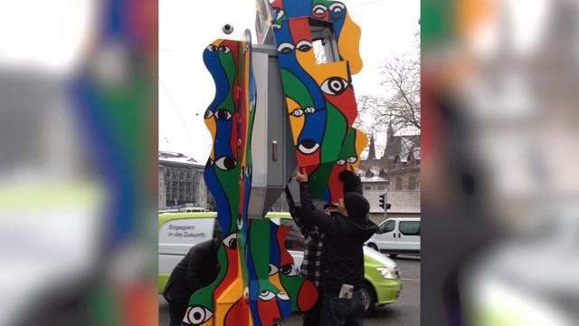 Aargauer steckt hinter Blitzer-Kunst