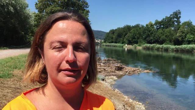 """""""Die Natur hat die neue Bucht innerhalb weniger Tage akzeptiert"""", sagt Monica Fernandez im Video-Interview"""