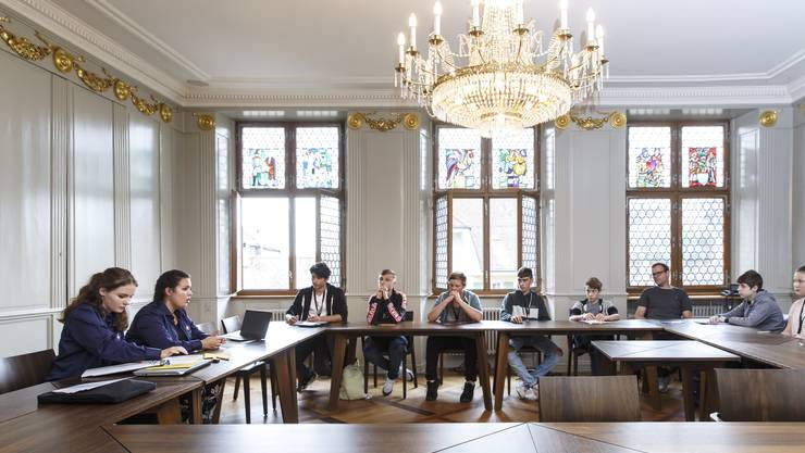 Jugendsession des Jugendparlaments Solothurn