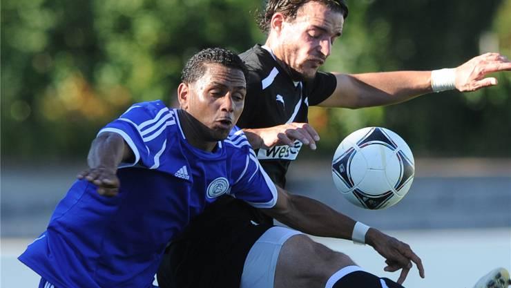 FC Grenchen trifft auf den FC Wohlen. (Symbolbild/Archiv)