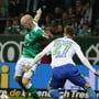 Schütze des vorentscheidenden 1:0: Bremens Niederländer Davy Klaassen