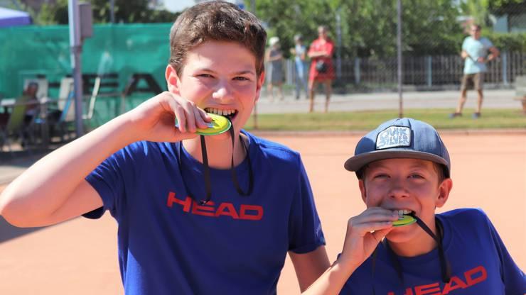 Zwei Medaillengewinner