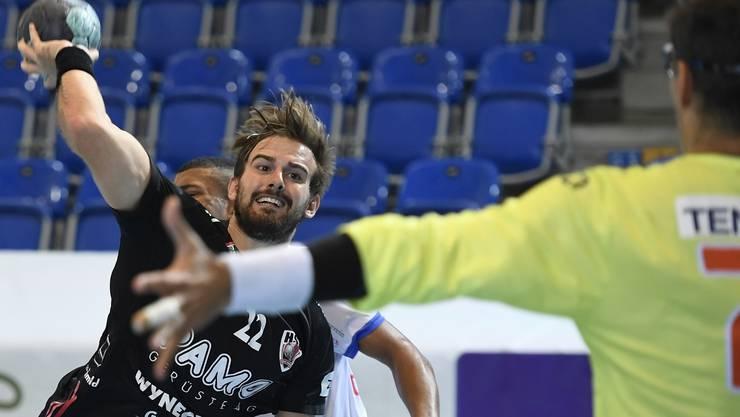 Auf seine Rückkehr auf die Platte hofft man beim HSC Suhr Aarau: Sergio Muggli.