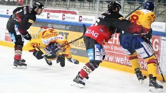 Der EHC Basel erreicht dank viel Einsatz den Playoff-Final.