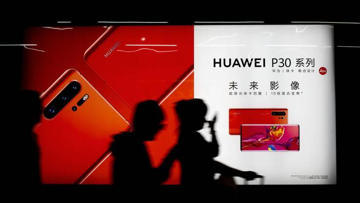 Huawei ist der führende Hersteller von 5G-Netzen und Partner von Sunrise.