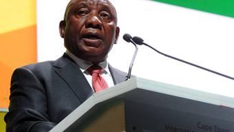 Ramaphosas Rede markierte für Südafrika den Beginn eines Jubiläumsjahres: Vor 25 Jahren wurde das Apartheid-Regime der weissen Minderheit abgelöst.(Archivbild)