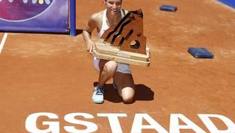 Viktorija Golubic gewann 2016 bei der Premiere völlig überraschend das WTA-Turnier in Gstaad