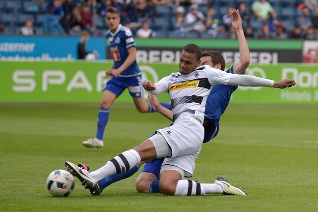 Sow bei Mönchengladbach: Zu Einsätzen reicht es meist nur in Testspielen und der Regionalliga.