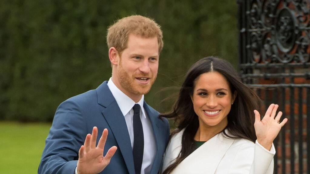 ARCHIV - Prinz Harry und Herzogin Meghan ziehen sich zurück. Foto: Dominic Lipinski/PA Wire/dpa