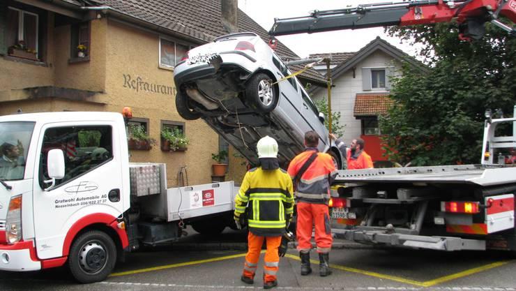 Verkehrsunfall Stetten