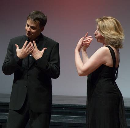 Christian Dillig und Jelena Bulavko im Duett