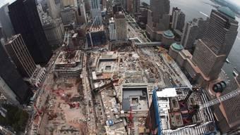 Bauarbeiten auf Ground Zero in New York