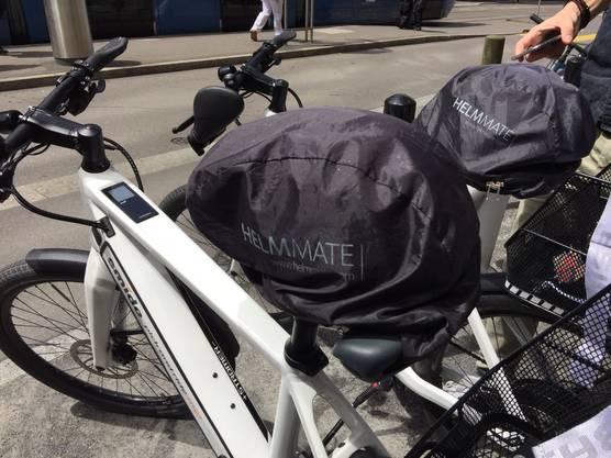 Ein Helm ist auch immer dabei