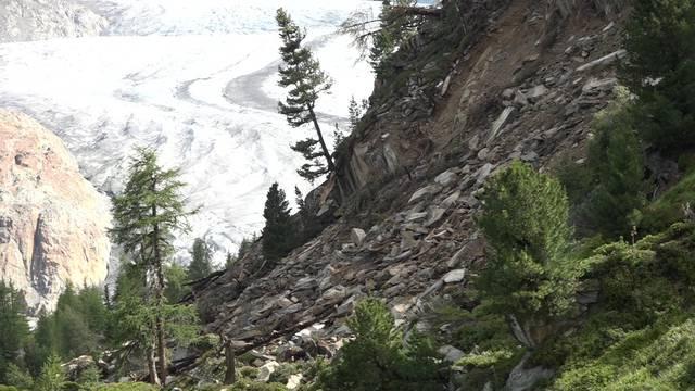 150 Millionen Kubikmeter Gestein könnten sich am Aletschgletscher lösen