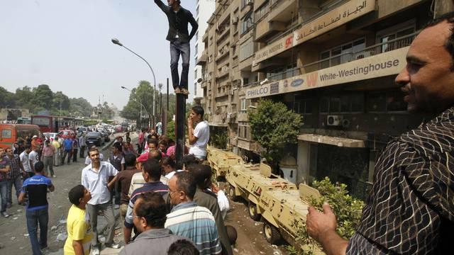Die Krawalle in Kairo ebben nicht ab