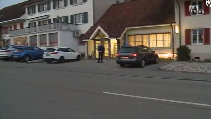 Die Post in Matzendorf wurde überfallen.