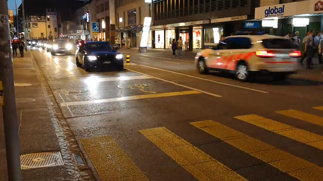 Hupkonzert nach Achtelfinal-Quali an der Aarauer Bahnhofstrasse