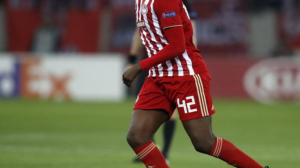 Yaya Touré ist diesmal bei Olympiakos Piräus nicht glücklich geworden