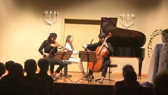 Das Trio Sōra bildete den Auftakt des gross angelegten Beethoven-Zyklus.