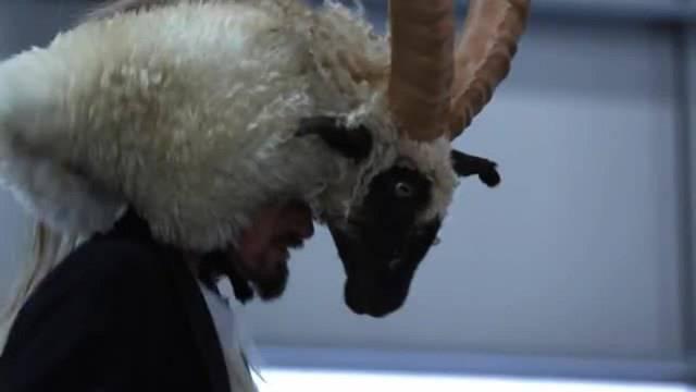 Die Sage vom Geissbock, mit dem die Urner den Teufel übers Ohr hauten, wird auch Teil der Feierlichkeiten zur Eröffnung des neuen Tunnels sein.
