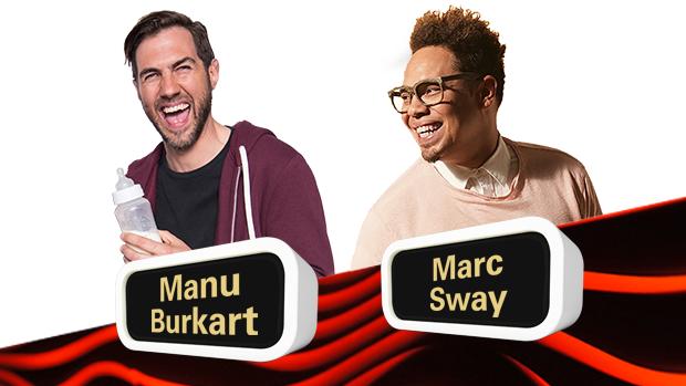 On Air Manu Burkart- Marc Sway